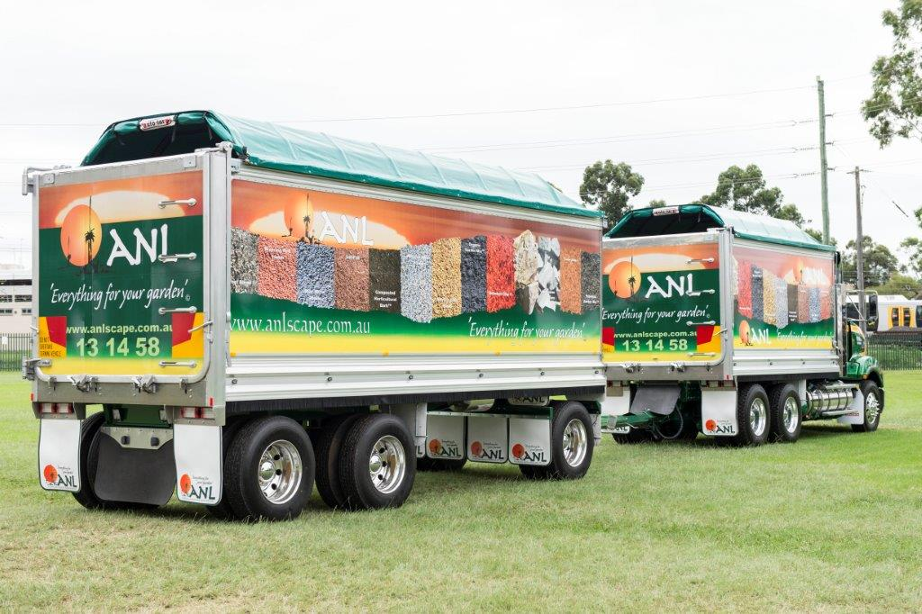 3 Axle Dog Trailer for ANL