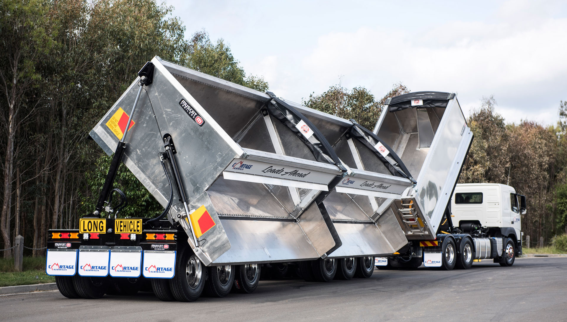 6 Axle Dog Side Tipper for Cartage Australia